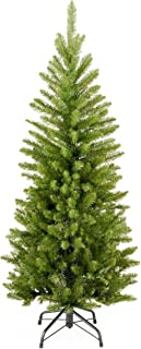 National Tree Company Artificial Christmas Tree | Includes Stand | Kingswood Fir Pencil – 4 ft