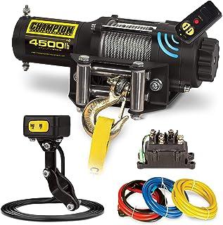 Champion Power Equipment-14560 4500-lb. ATV/UTV Wireless Winch Kit