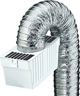 Deflecto Dryer Lint Trap Kit, Indoor Venting with Supurr-Flex Flexible Metallic Duct,..