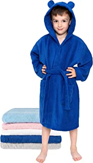 Kids Bathrobe Boy and Girl 1 to 12 years – 100% Turkish Cotton – No Chemicals
