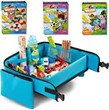 Kids Travel Tray + Bonus 3 pieces Water Books | Carseat Tray | Kids Travel Trays |..