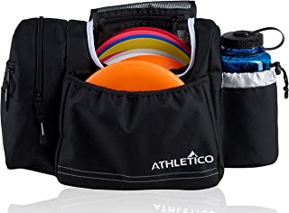 Athletico Disc Golf Bag – Tote Bag for Frisbee Golf – Holds 10-14 Discs,..