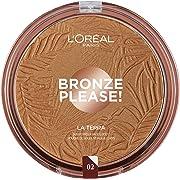 L'Oréal Paris Joli Bronze Terra Make Up Abbronzante Viso in Polvere, Texture Leggera, 02 Capri Naturale, 18 g