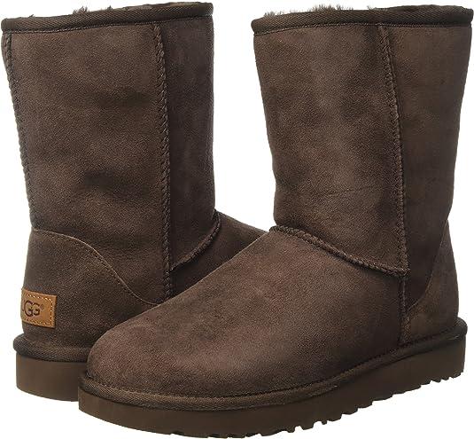 dark brown ugg Australia stylish and warm shoes