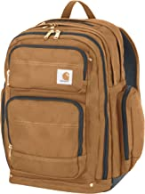 Carhartt Legacy Deluxe Work Backpack with 17-Inch Laptop Compartment, Carhartt Brown
