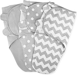 Swaddle Blanket Baby Girl Boy Easy Adjustable 3 Pack Infant Sleep Sack Wrap Newborn..