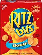 Ritz Bits Cheese Cracker Sandwiches, 8.8 Ounce (Pack of 12)
