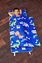 EVERYDAY KIDS Toddler Nap Mat with Removable Pillow – Roarin' Dinos –..