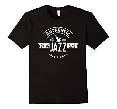 Authentic Swing Jazz Band Traditional T-shirt