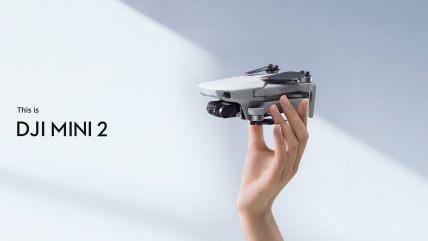DJI-Mini-2--Ultralight-and-Foldable-Drone-Quadcopter-3-Axis-Gimbal-with-4K-Camera-12MP-Photo-31-Mins-Flight-Time-OcuSync-20-10km-HD-Video-Transmission-QuickShots-Gray