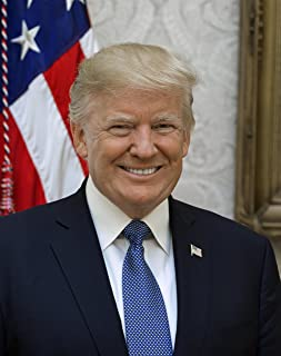 President Donald J Trump Official Portrait Photo American Presidents Photos 8x10