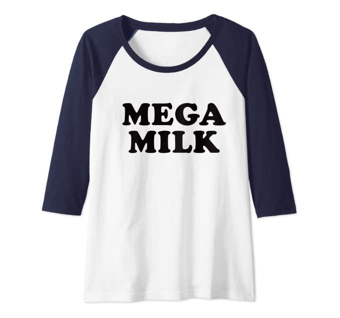 T-shirt na mega milk