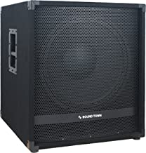 """Sound Town METIS Series 2000W 18"""" Powered Subwoofer with DSP (METIS-18SPW)"""