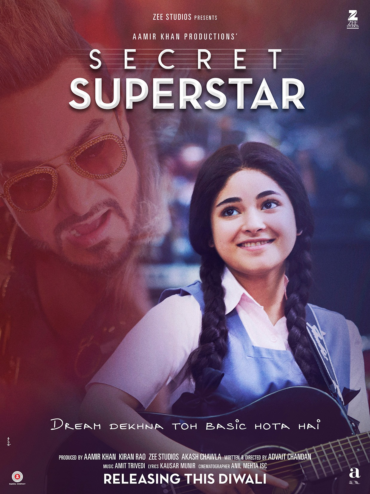 Download Secret Superstar (2017) Hindi Full Movie 480p | 720p | 1080p