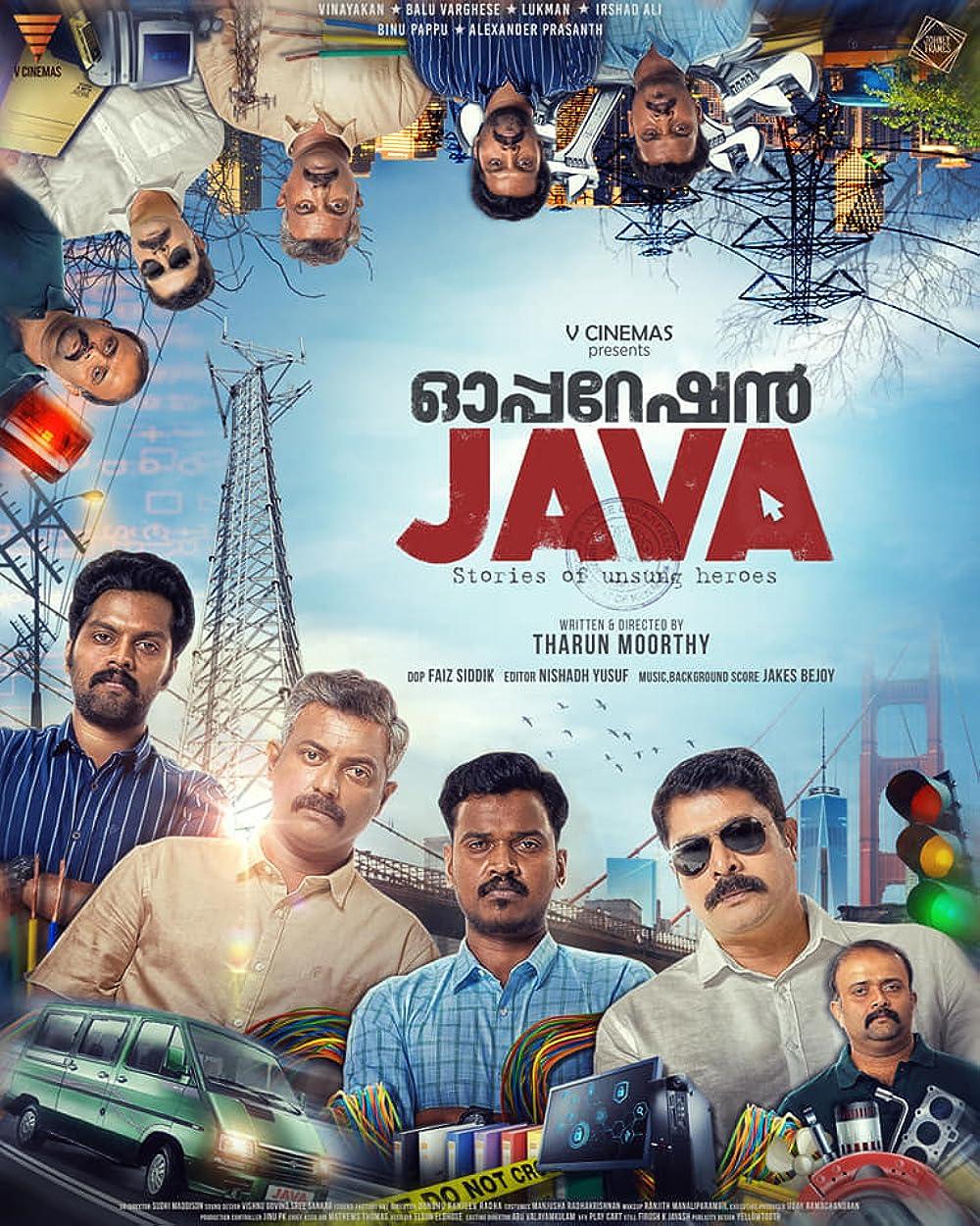 Operation JAVA 2021 Malayalam 720p HDRip 1.4GB | 408MB Download