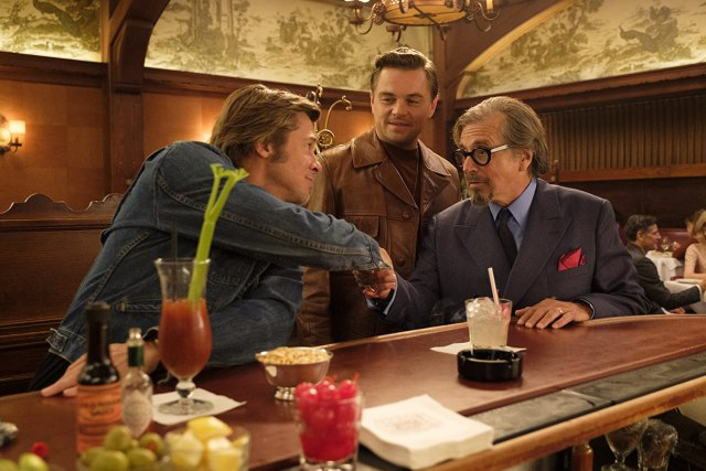 Brad Pitt, Leonardo DiCaprio, and Al Pacino in Once Upon a Time... in Hollywood (2019)