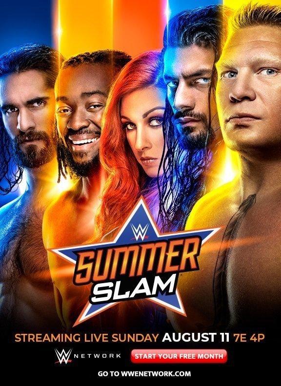 WWE SummerSlam 2019 English PPV Readnfo Full Show 700MB HDRip