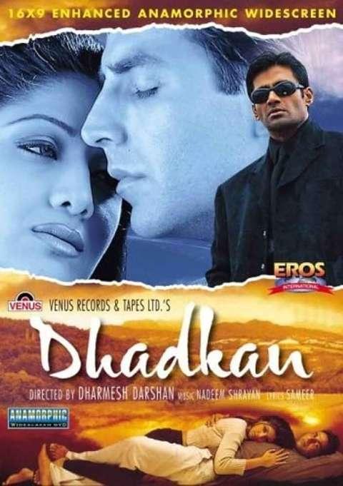 Download Dhadkan (2000) Hindi Full Movie 480p [400MB] | 720p [2GB] | 100p [3GB]