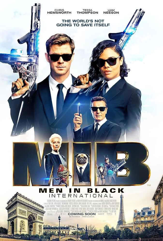 Download Men in Black: International (2019) Dual Audio {Hindi-Eng} 480p [300MB] | 720p [1GB] | 1080p [2.8GB]