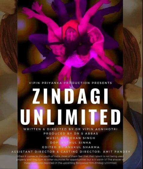 Download Zindagi Unlimited 2021 Hindi Movie 480p MX HDRip 330MB