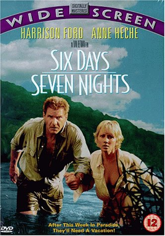 Image result for six days seven nights poster