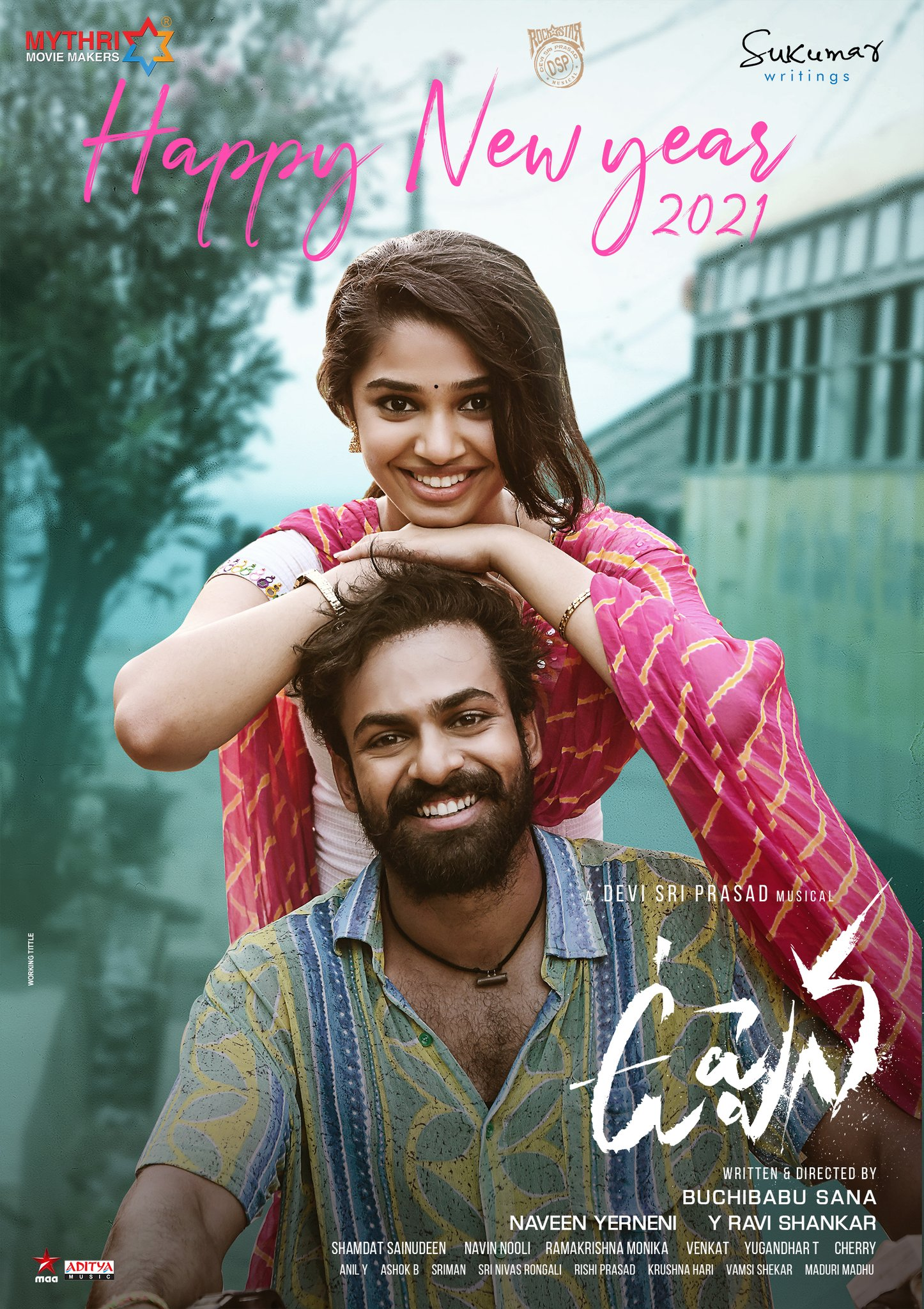 Uppena 2021 Telugu 480p | 720p HDRip 400MB | 1.3GB Download