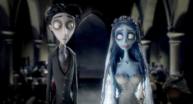 Johnny Depp and Helena Bonham Carter in Corpse Bride (2005) Undead Couples