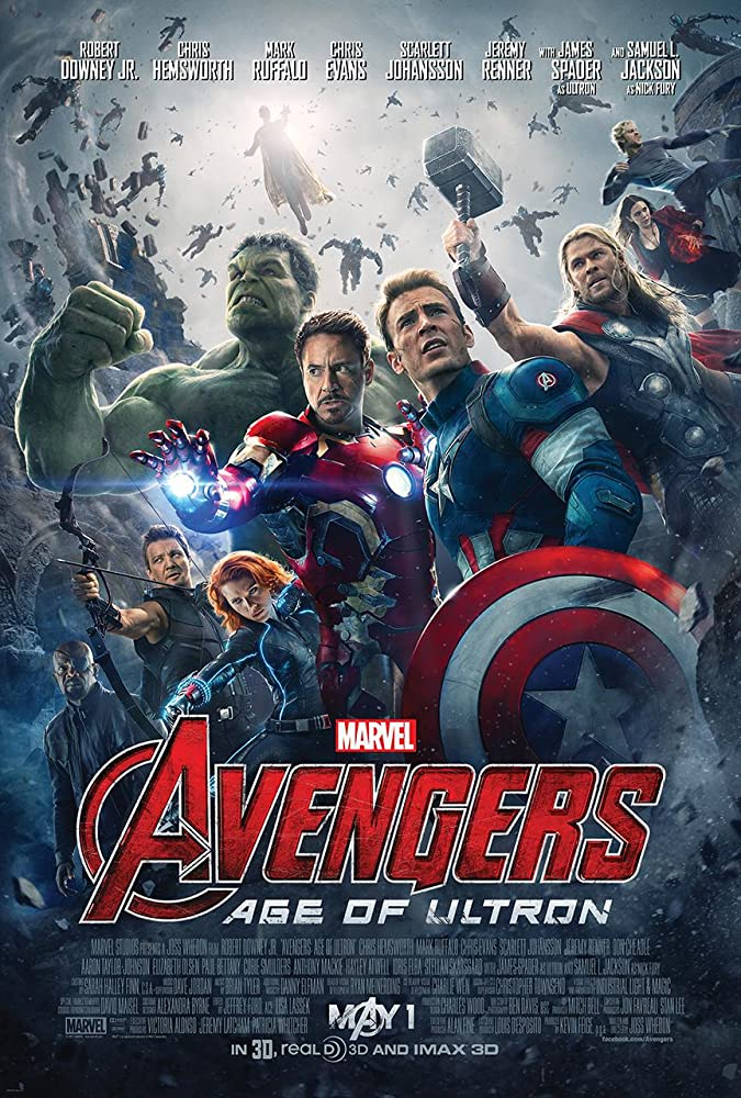 Avengers 2: Age of Ultron 2015 Movie BluRay Dual Audio Hindi Eng 400mb 480p 1.4GB 720p 5GB 12GB 1080p