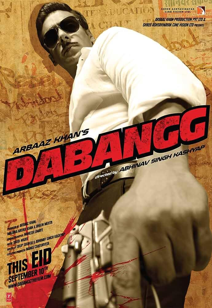 Dabangg 2010 Hindi Movie BluRay 300mb 480p 1GB 720p 4GB 11GB 1080p