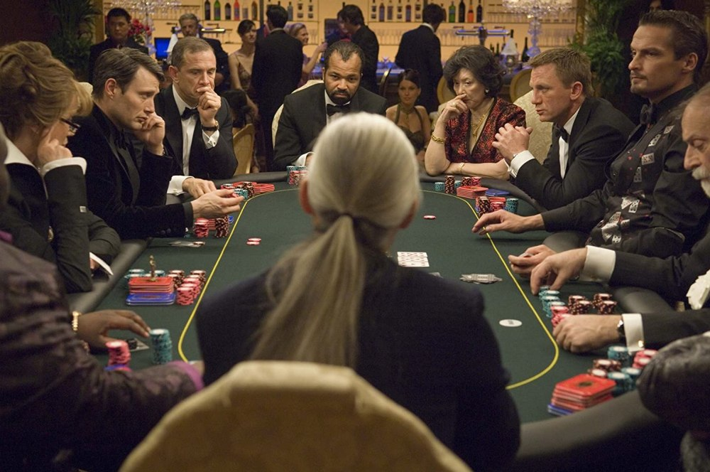 Ade, Urbano Barberini, Tsai Chin, Daniel Craig, Mads Mikkelsen, Lazar Ristovski, Veruschka von Lehndorff, Jeffrey Wright, Carlos Leal, Charlie Levi Leroy, and Andreas Daniel in Casino Royale (2006)