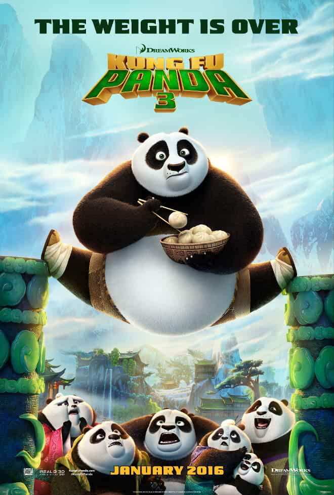 Download Kung Fu Panda 3 (2016) Dual Audio {Hindi-Eng} 480p [300MB] | 720p [1GB] | 1080p [2GB]