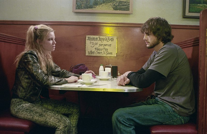 Ashton Kutcher and Amy Smart in The Butterfly Effect (2004)