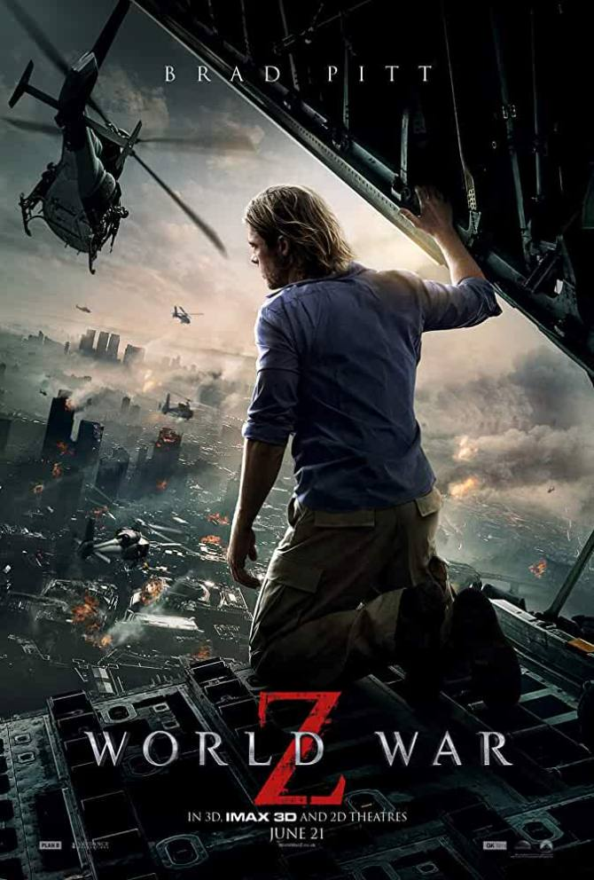 World War Z 2013 Full Movie in Hindi 720p Download ESub Watch Online Free Download on hollywoodmovies4u.com