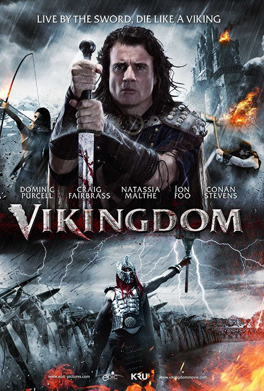 Vikingdom 2013 Hindi Dual Audio 480p | 720p BluRay 405MB | 1GB Download