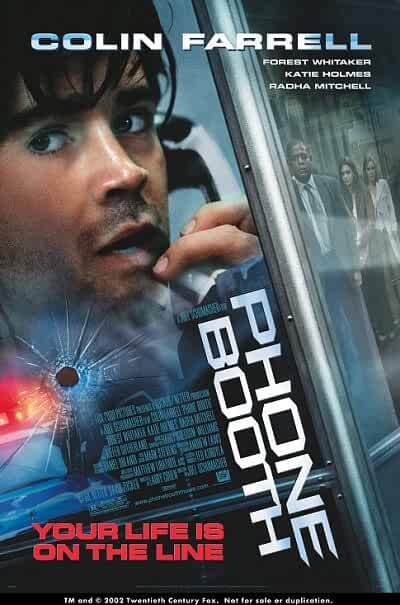 Download Phone Booth (2002) Full Movie In Hindi-English (Dual Audio) BluRay 480p [300MB]   720p [700MB]