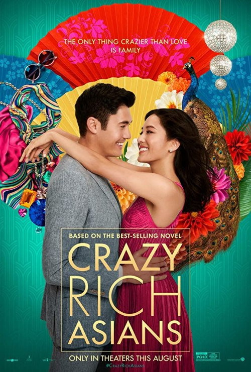 August 2018 Adaptations - Crazy Rich Asians Poster