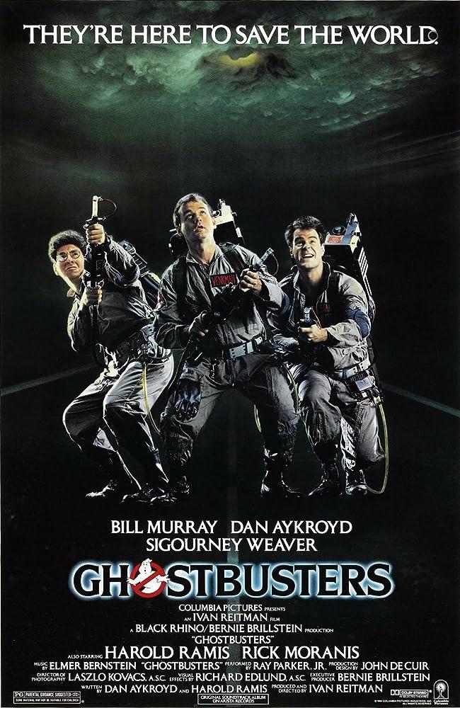 Ghostbusters 1984 BluRay Dual Audio Hindi Eng 300mb 480p 900mb 720p