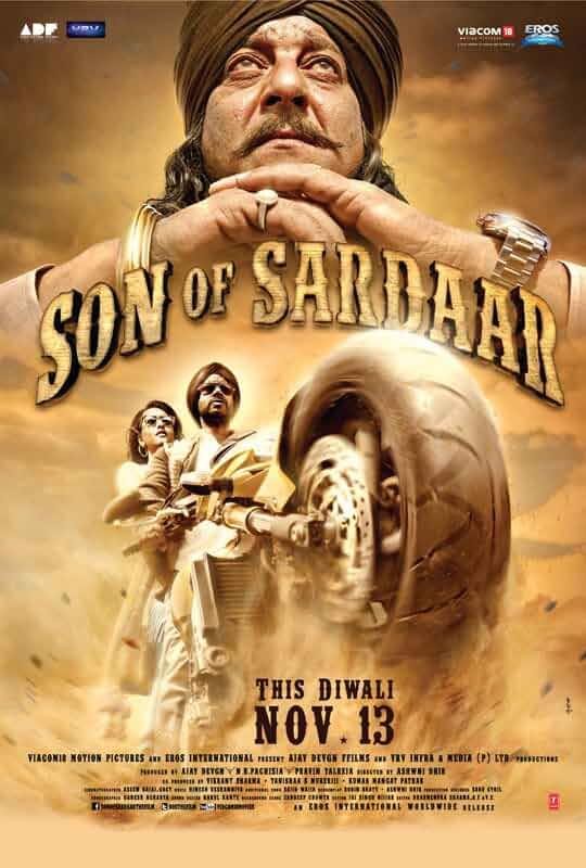 Download Son of Sardaar (2012) Hindi Full Movie 480p [450MB] | 720p [1.3GB]