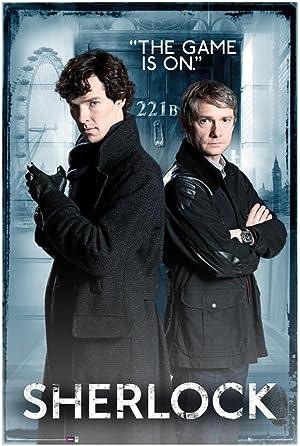 Download Sherlock {All Episodes} 720p [Season 1-4] (300MB)