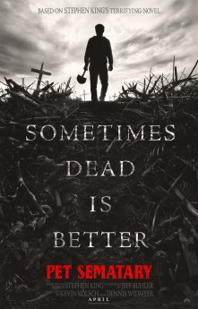 Image result for pet sematary movie poster 2019