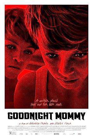 Poster do filme - Boa noite, Mamãe - Dois garotos aflitos sob luz vermelha