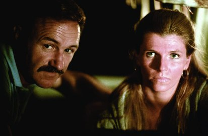 Gene Hackman and Jennifer Warren in Night Moves (1975)