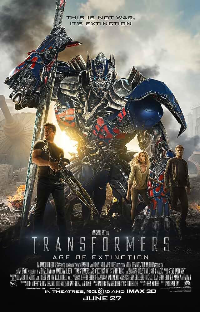 Download Transformers 4: Age of Extinction (2014) Dual Audio Hindi Movie 480p [500MB] | 720p [1.4GB] | 1080p [4.7GB]