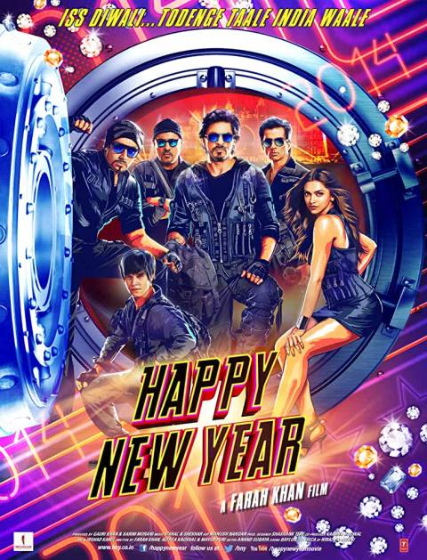Download Happy New Year (2014) Hindi Full Movie HDRip 480p [475MB] | 720p [1GB]