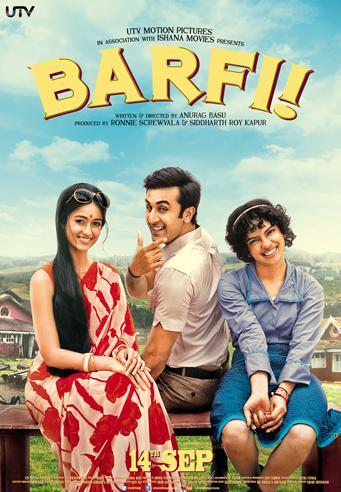 Barfi! (2012) - best Bollywood movies of the decade