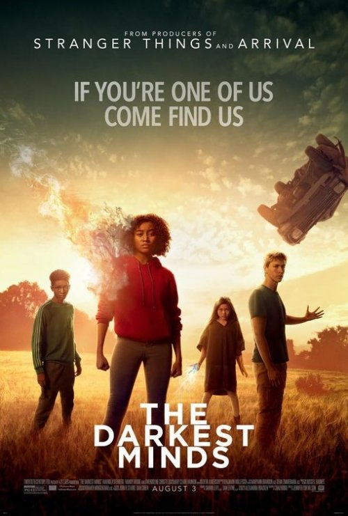 August 2018 Adaptations - The Darkest Minds Poster