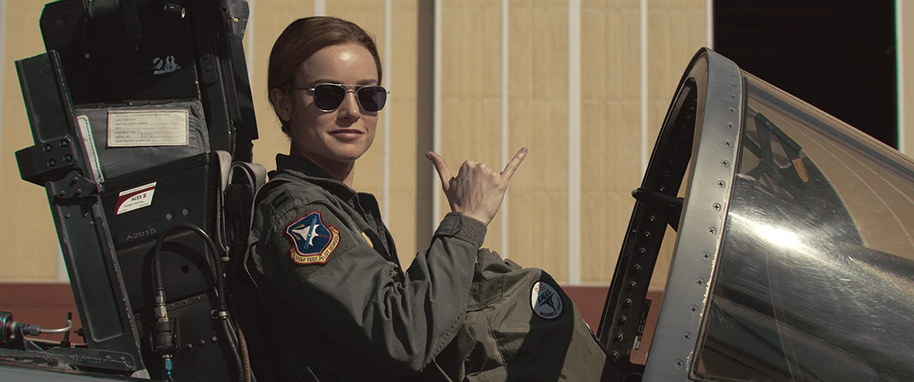 Brie Larson / Captain Marvel / Marvel Entertainment & Walt Disney Studios. © 2019. All rights reserved.