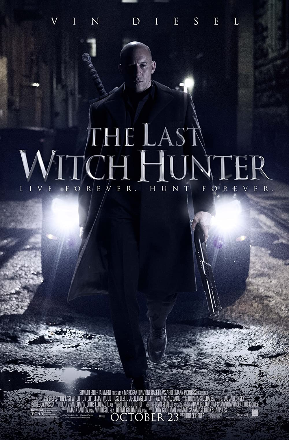 The Last Witch Hunter 2015 Dual Audio 480p | 720p BluRay [Hindi ORG + English]  x264 AAC  300MB | 1200MB Download