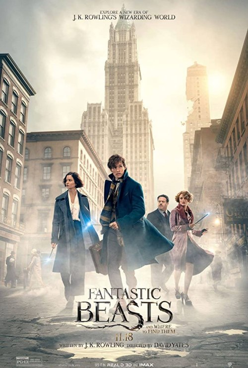 November 2016 Adaptations - Fantastic Beasts and Where to Find Them Movie Poster