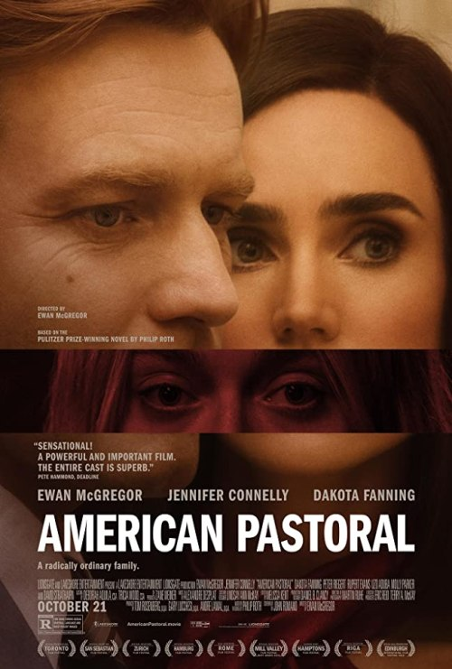 October 2016 Adaptations - American Pastoral Movie Poster